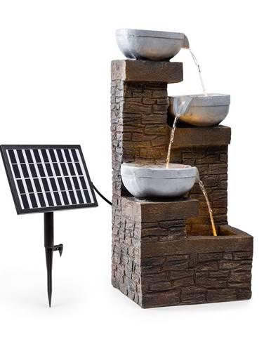Blumfeldt Fez, solární fontána, LED, 34 × 76 × 36 cm (Š × V × H), polyresin