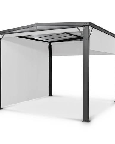 Blumfeldt Pantheon Cortina Solid Sky, pergola, přístřešek, 3 × 3 m, polykarbonát