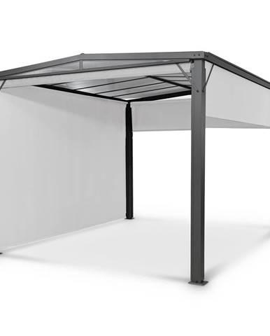 Blumfeldt Pantheon Cortina Solid Sky, pergola, přístřešek, 3 × 4 m, polykarbonát