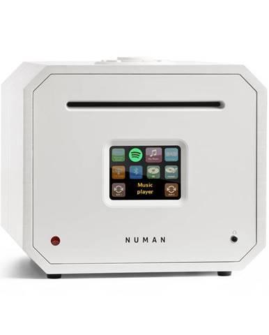 Numan Unison Octavox Edition - all in one receiver se zesilovačem, přijímač, bílý
