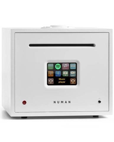 Numan Unison Reference Edition - all in one receiver se zesilovačem, přijímač, bílý