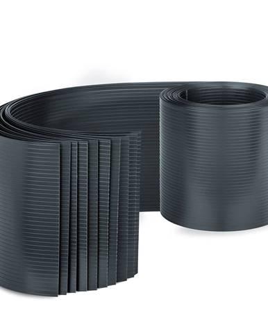 Blumfeldt Stínící pásy, stíněný plot, PVC tvrdý plast, 2,53 x 0,19 m