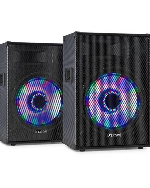 """Fenton Fenton TL12LED, pár 3-cestných pasivních reproduktorů, RGB-LED, 12"""" woofer, 600 W Tweeter"""