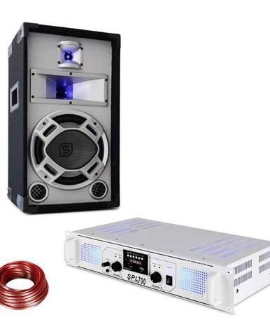 Skytec SPL700MP3, sada zesilovač a reprodukor, bílý