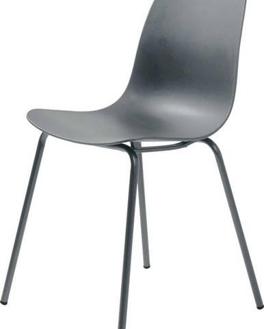 Šedá jídelní židle Unique Furniture Whitby