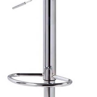 Tmavě šedá barová židle sømcasa Nelly, výška 104 cm