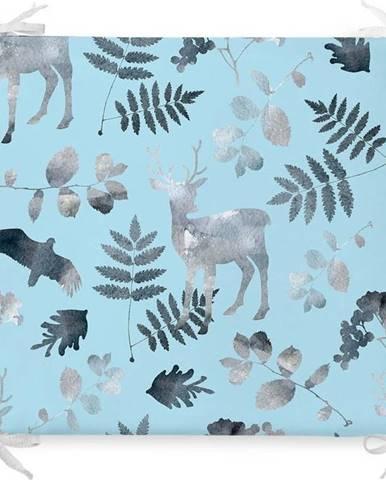 Vánoční podsedák s příměsí bavlny Minimalist Cushion Covers Christmas Forest,42x42cm
