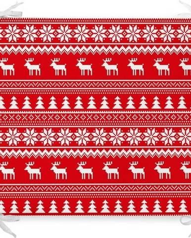 Vánoční podsedák s příměsí bavlny Minimalist Cushion Covers Stockings,42x42cm