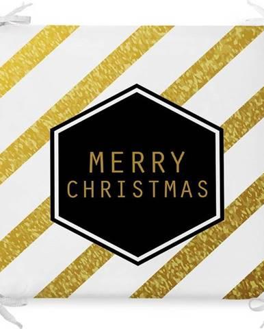 Vánoční podsedák s příměsí bavlny Minimalist Cushion Covers Sweet Xmas,42x42cm