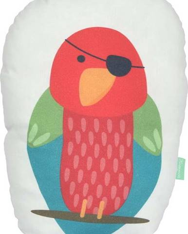 Polštářek z čisté bavlny Happynois Parrot, 40x30 cm