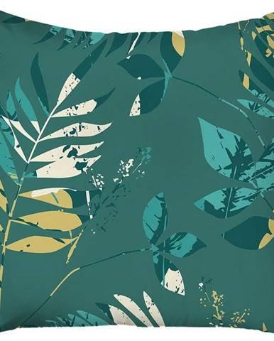 Zelený povlak na polštář Mike & Co. NEW YORK Jungle,43x43cm