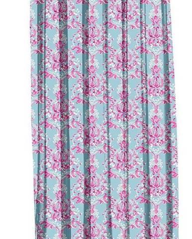 Modro-růžový závěs Mike & Co. NEW YORK Butterflies,140x270cm