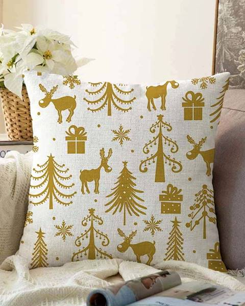 Minimalist Cushion Covers Vánoční žinylkový povlak na polštář Minimalist Cushion Covers Christmas,55x55cm