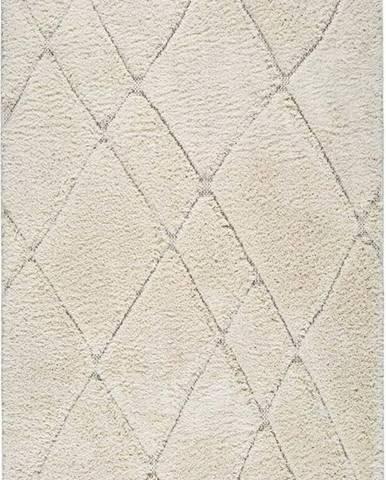 Béžový koberec Universal Kai Line, 155 x 235 cm