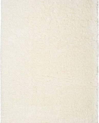 Bílý koberec Universal Floki Liso, 160x230cm