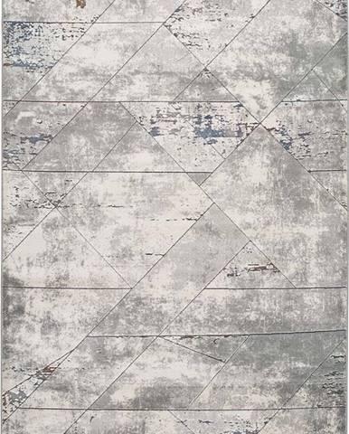 Šedý koberec Universal Berlin Line, 160 x 230 cm