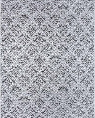Šedý venkovní koberec Ragami Moscow, 160 x 230 cm