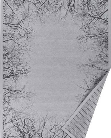 Šedý vzorovaný oboustranný koberec Narma Puise, 160 x 230cm