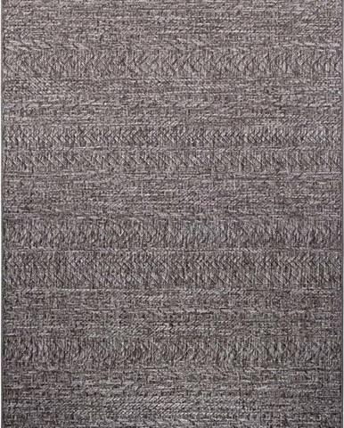Tmavě šedý venkovní koberec Bougari Granado, 80 x 150 cm