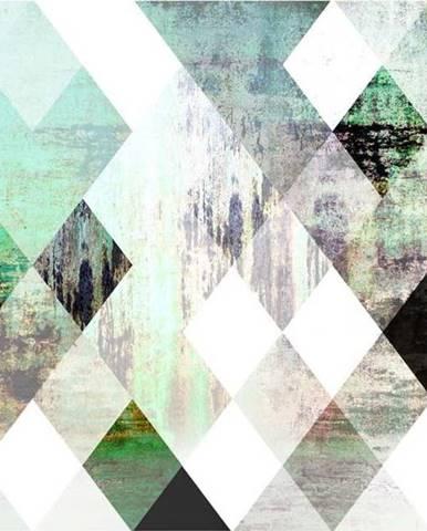 Velkoformátová tapeta Artgeist Forest Rhombic Chessboard ,400x280cm