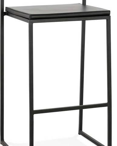 Černá barová židle KokoonCaroMini, výška sedáku 65cm