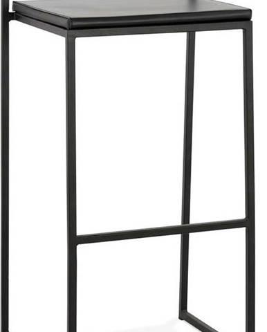 Černá barová židle KokoonCaro, výška sedáku 75cm