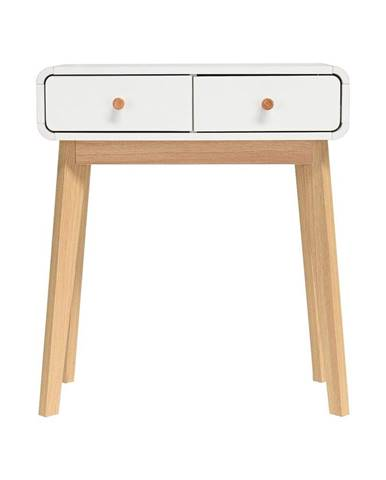 Bílý konzolový stolek Støraa Cassie
