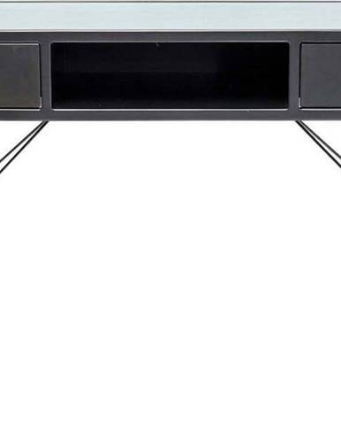 Černý konzolový stolek Kare Design La Gomera