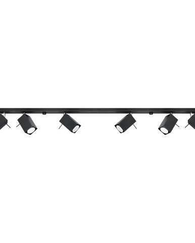 Černé stropní svítidlo Nice Lamps Toscana 6L