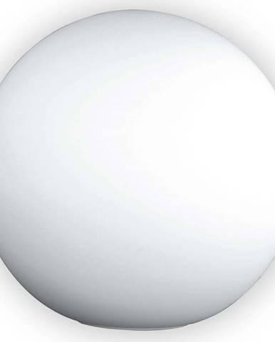 Bílá skleněná stolní lampa Fischer & Honsel Kugel Opal,ø30cm