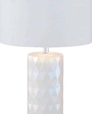 Bílá stolní lampa Fischer & Honsel Abo