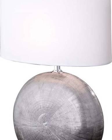 Bílá stolní lampa Fischer & Honsel Foro,výška53cm