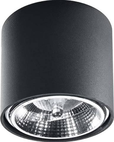 Černé stropní svítidlo Nice Lamps Luigi