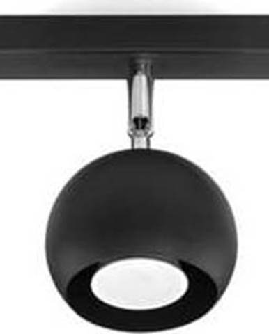 Černé stropní svítidlo Nice Lamps Ollo,délka45cm