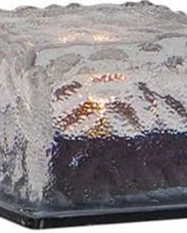 Sada 3 venkovních solárních svíček Star Trading Candle Icecube