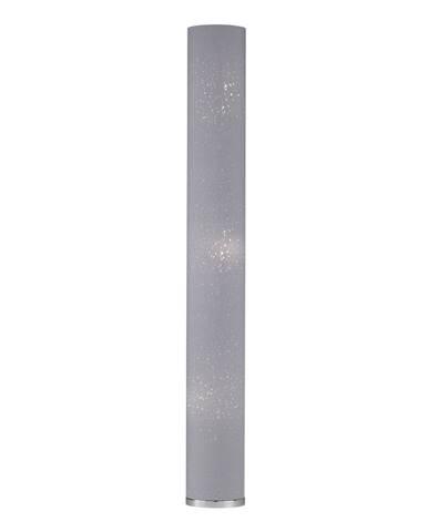 Šedá stojací lampa Fischer & Honsel Thor,výška156 cm