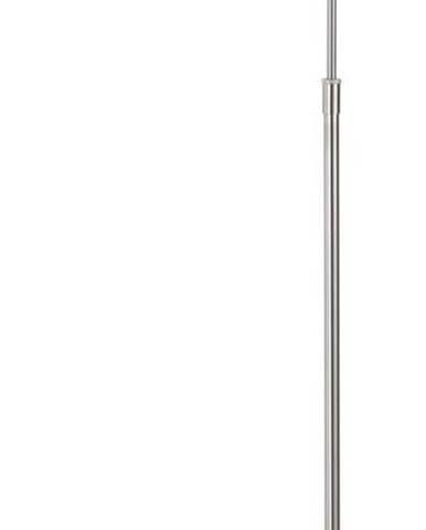 Stojací lampa ve stříbrné barvě Fischer & Honsel Nami