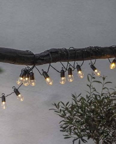 Venkovní světelný LED řetěz Star Trading Circus, 16 světýlek