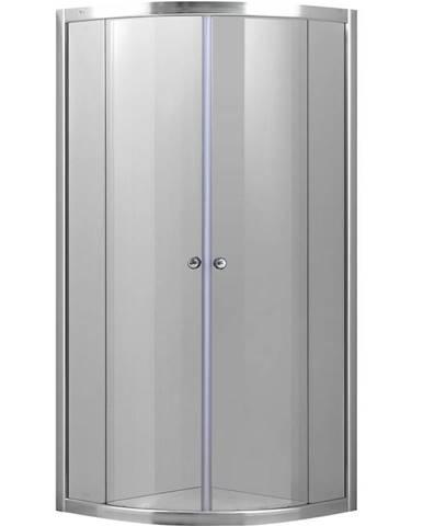 Sprchový kout čtvrtkruhový a1900 Aqua 80/80/185