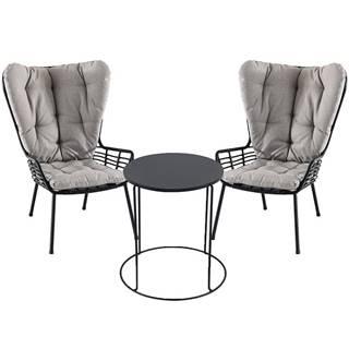 Sada nábytku stůl modern + 2 židle Oxford