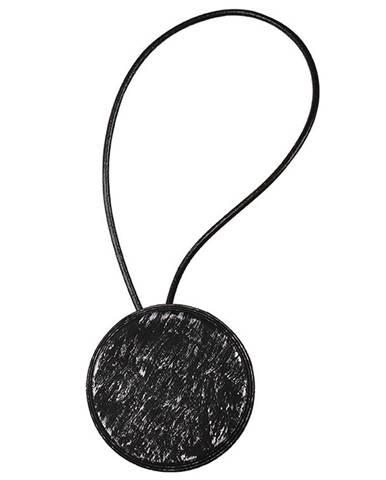 Dekorativní Magnet 99 černo- stříbrný