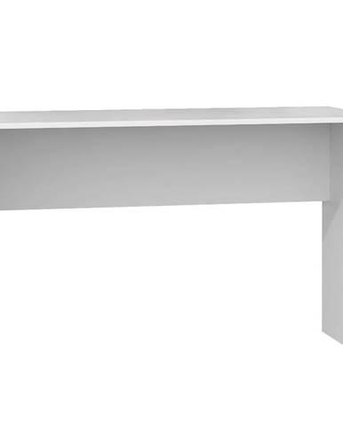 Psací Stůl Plus Bílý  Mat