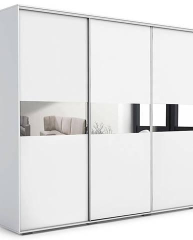 Skříň Daria A27 Zrcadlo 0,25 - Bílá