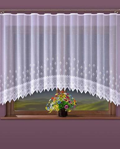 Kusová záclona ANIKA G25/bílá/300x150