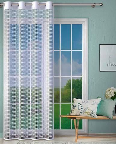 Kusová záclona G465/bílá/140x250