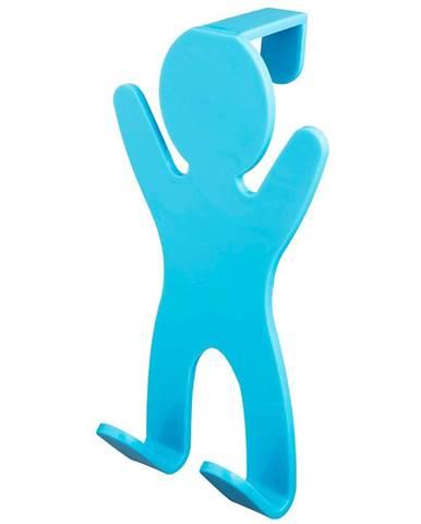 Věšák dvojitý 06650 modrý Bisk