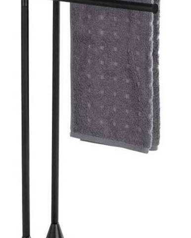 Černý stojan na ručníky Wenko Hella