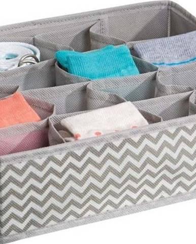 Organizér na 16 párů ponožek iDesign Axis, 35x27cm