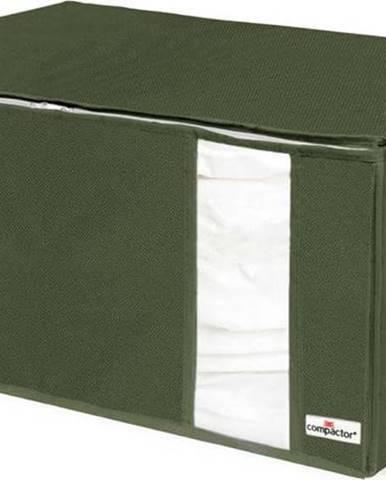 Zelený úložný box Compactor Oxford,210l