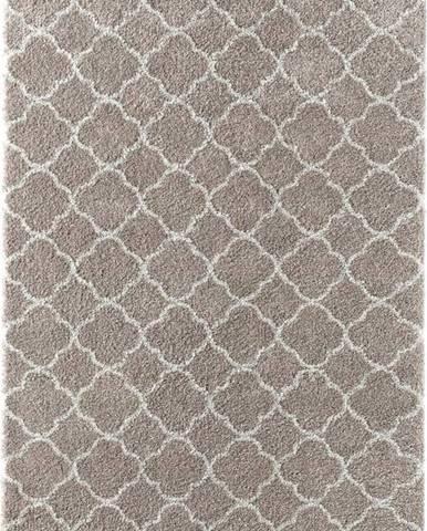 Béžový koberec Mint Rugs Luna, 120 x 150 cm